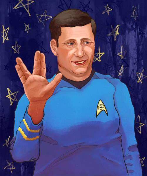 stephen harper as spock